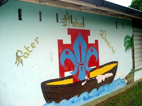 Surinam-Pfadfinder-Wand-dpsg-rohrbach