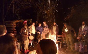 Party für Flüchtlinge